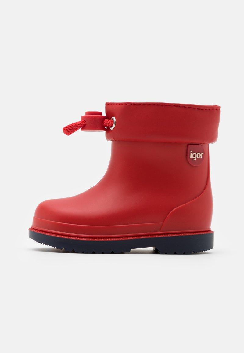 IGOR - BIMBI UNISEX - Botas de agua - rojo