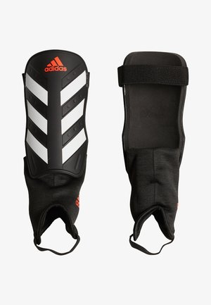 EVERCLUB - Shin pads - black/red/white