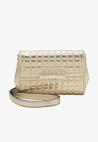 Guess - MATRIX XBODY BELT BAG - Marsupio - gold - 2