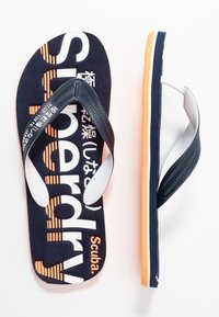 Superdry - CLASSIC  - T-bar sandals - navy - 1