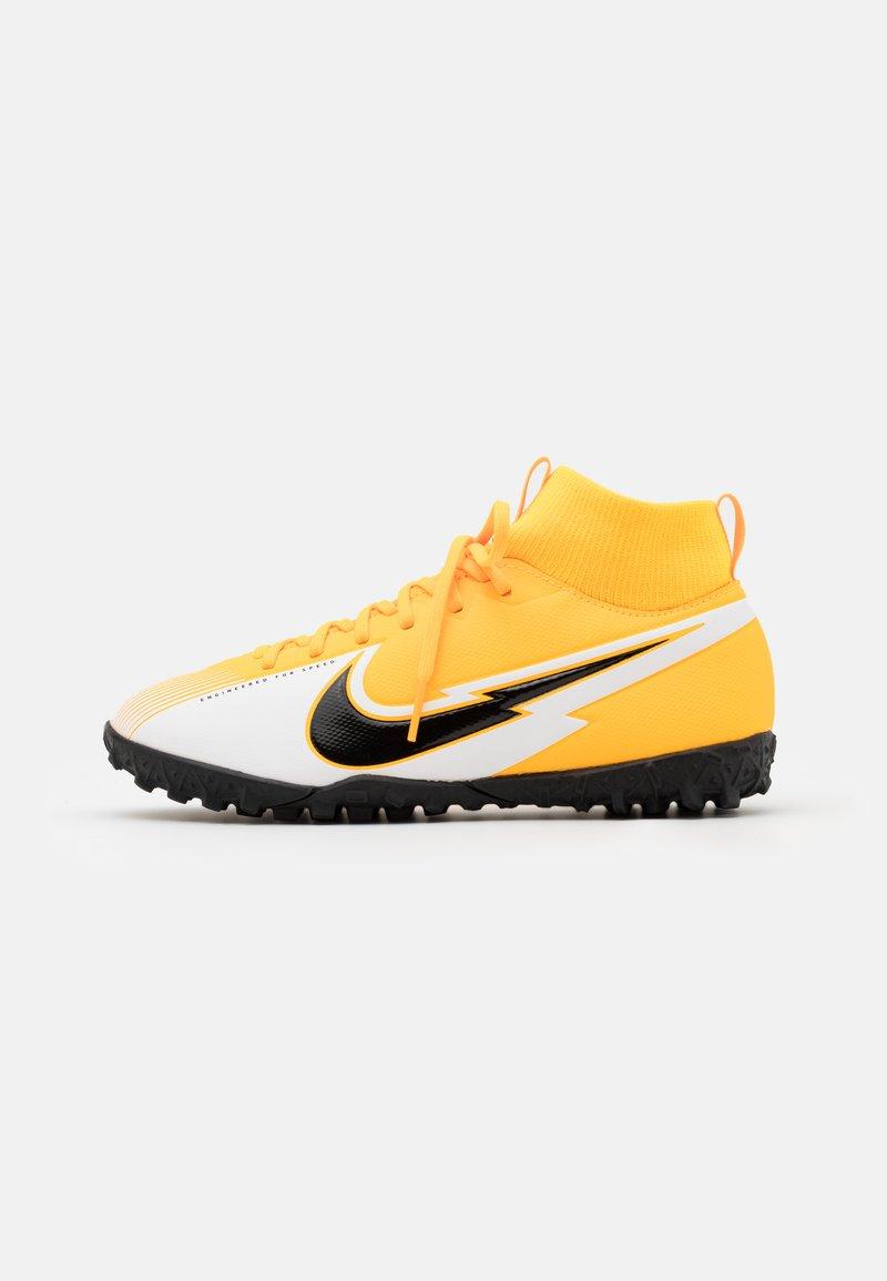 Nike Performance - JR MERCURIAL 7 ACADEMY TF UNISEX - Kopačky na umělý trávník - laser orange/black/white/laser orange