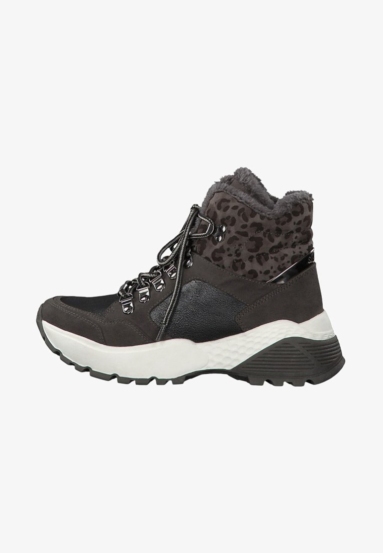 s.Oliver - High-top trainers - dark grey