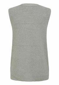 ONLY - ONLFLORELLE - Waistcoat - light grey melange - 5