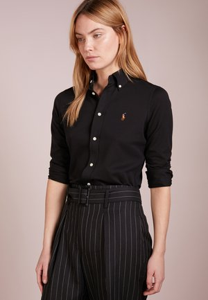 HEIDI LONG SLEEVE - Camisa - black