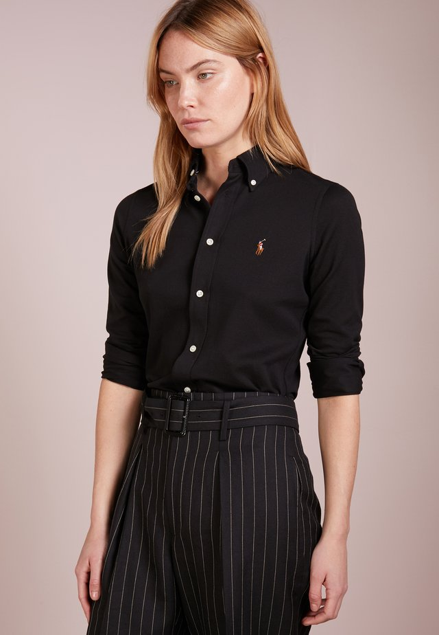 HEIDI LONG SLEEVE - Camicia - black