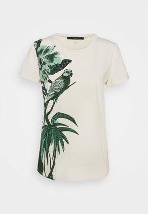 SELVA - Print T-shirt - elfenbein