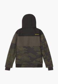 Brunotti - KEATON BOYS - Snowboardová bunda - pine grey - 1