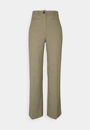 STACY TROUSERS - Bukser - brown choco