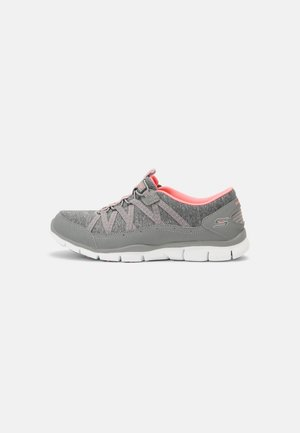 Sneakers laag - gray/coral