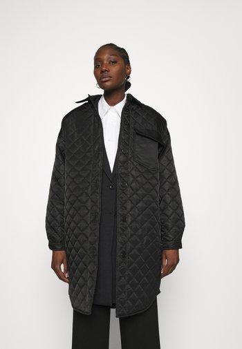 JACKET COOPER - Classic coat - black
