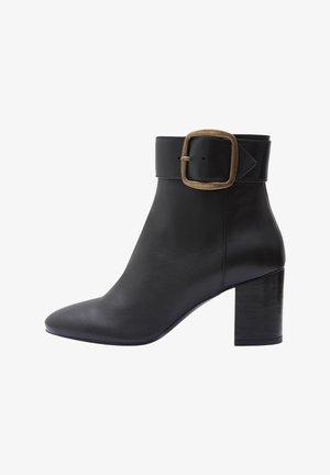 JIL - Korte laarzen - black