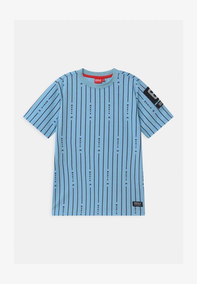 TAYLOR UNISEX - Print T-shirt - sky blue