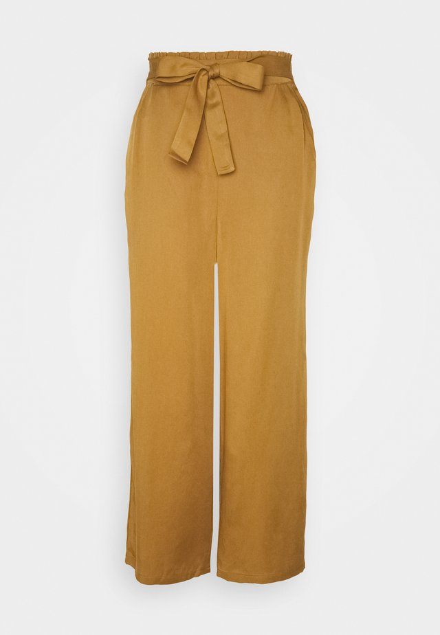 NUBRONTE TOYON PANTS - Broek - bronze brown