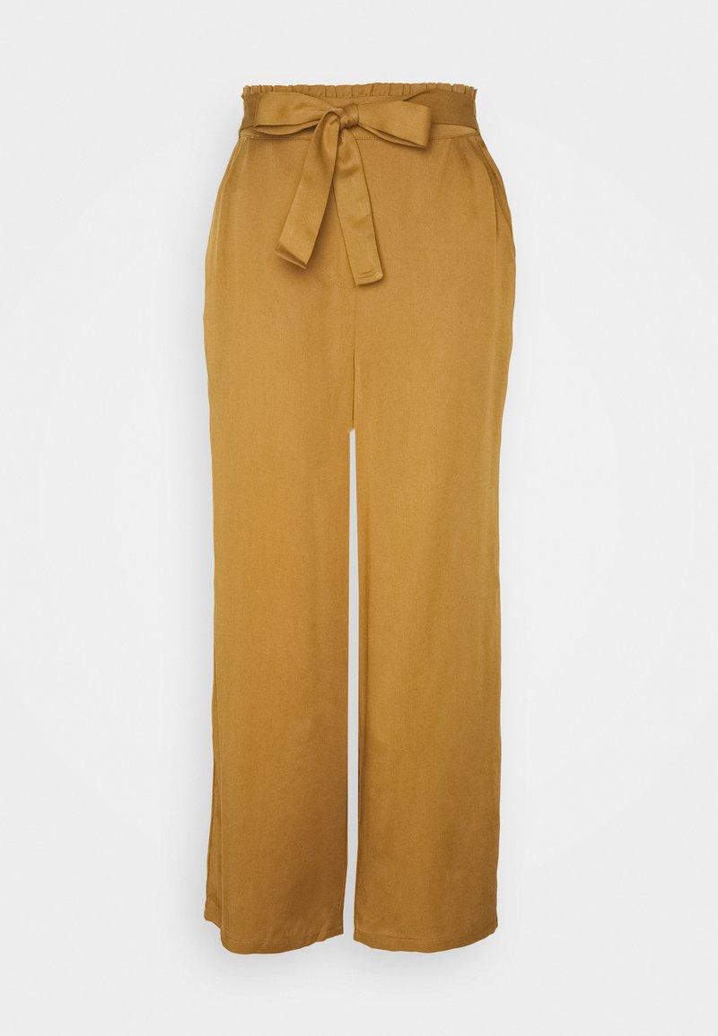 Nümph - NUBRONTE TOYON PANTS - Bukse - bronze brown