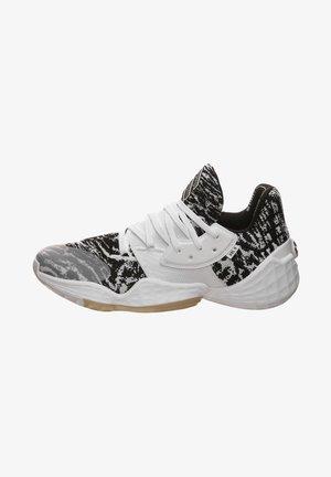 HARDEN VOL. 4 - Stabilty running shoes - footwear white / core black / st pale nude