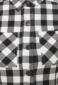 Afends - PIPER - Shirt dress - black / white - 2