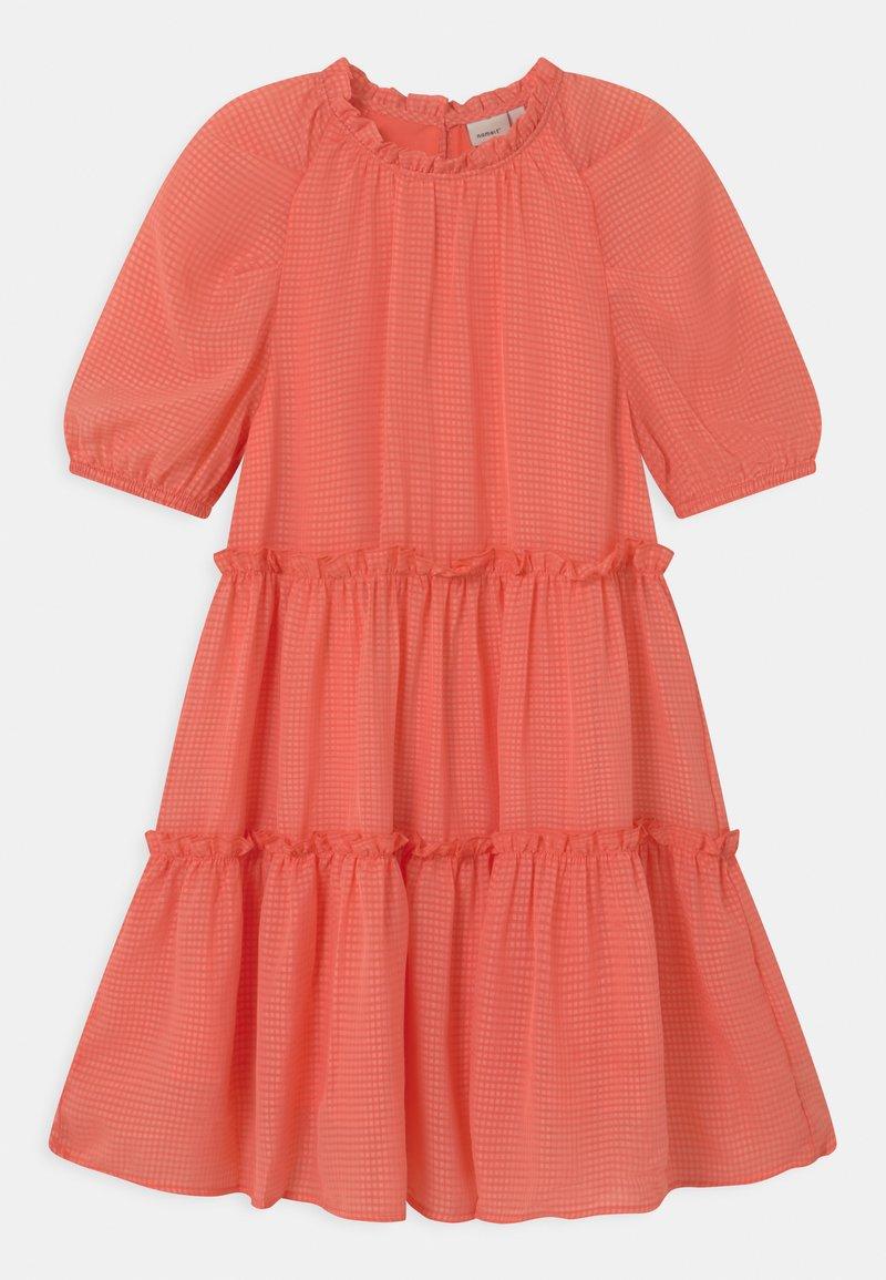 Name it - NKFHETTE  - Day dress - persimmon