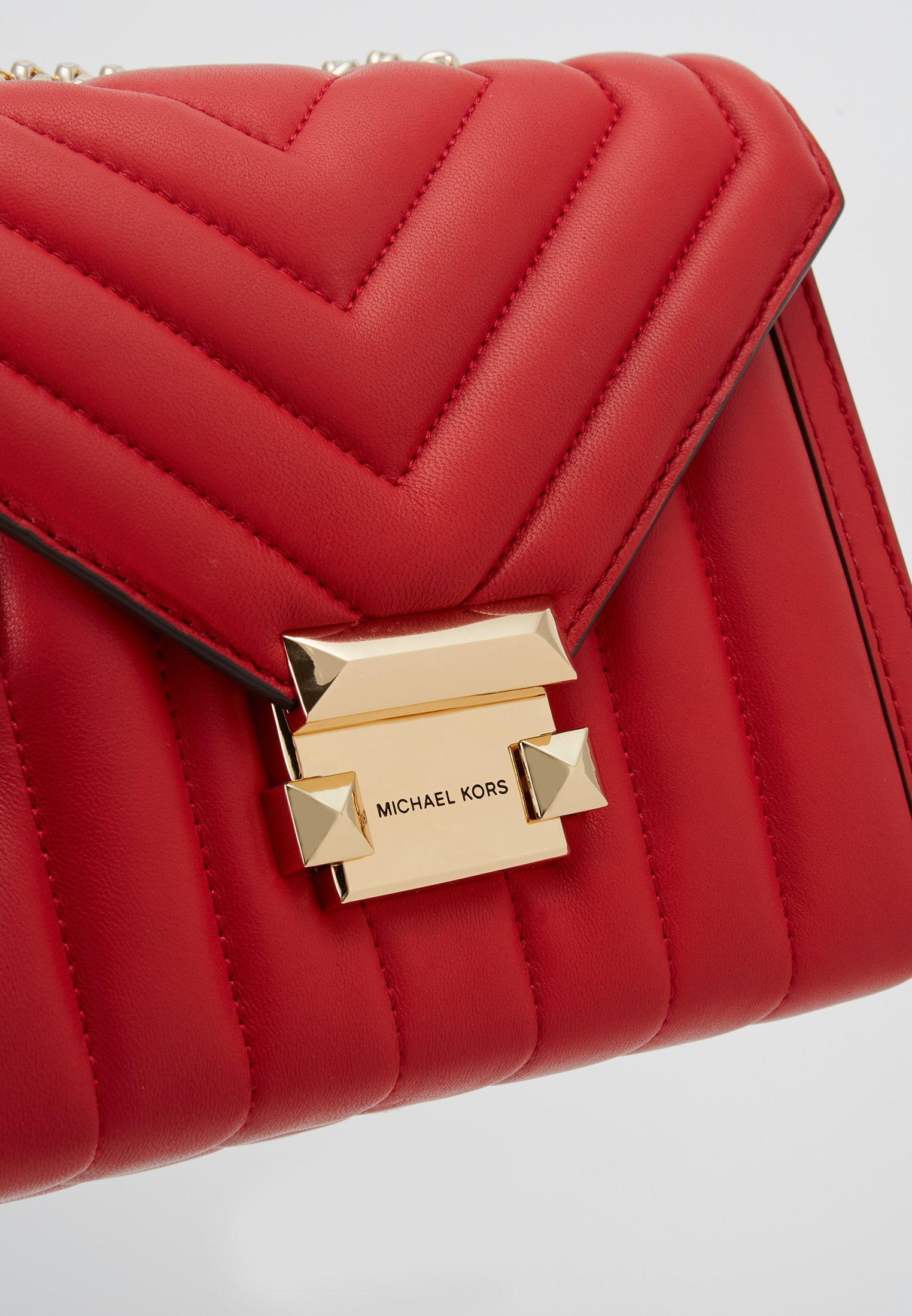 Offer Outlet MICHAEL Michael Kors WHITNEY COSTA  - Across body bag - bright red | women's accessories 2020 jNUIS
