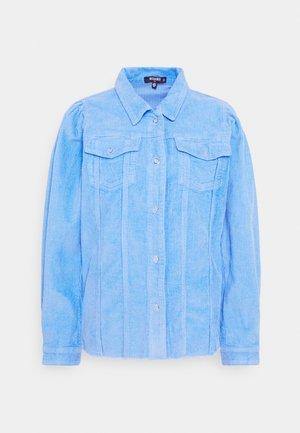 PUFF SLEEVE JACKET - Lehká bunda - light blue