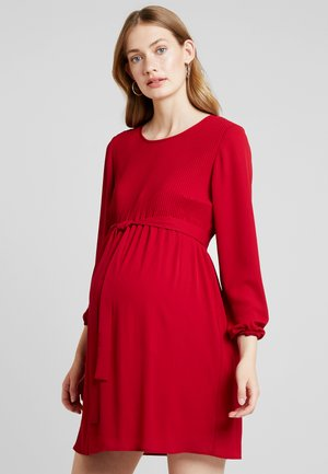 AB KRISTAL PIAZZATO - Day dress - red