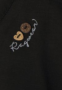 Ragwear Plus - RICOTA - Triko spotiskem - black - 2