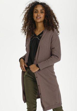 CRSILLAR - Cardigan - faded brown