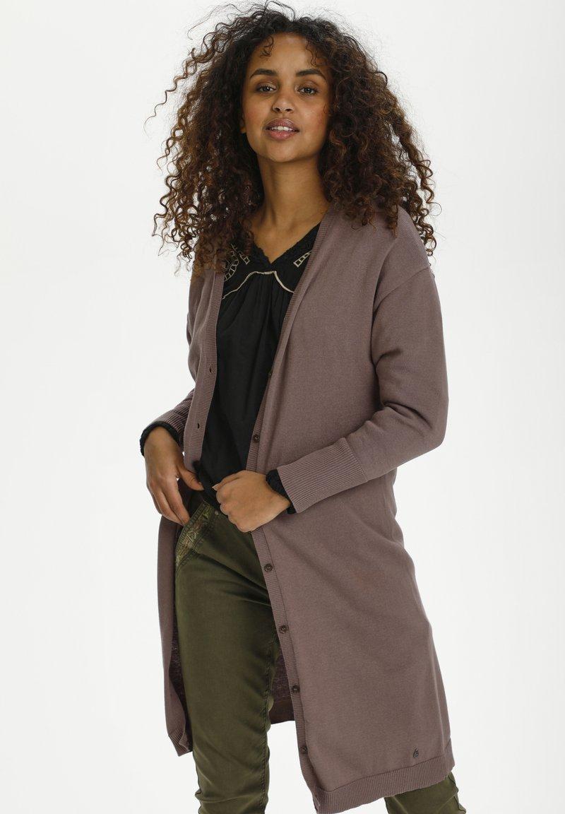 Cream - CRSILLAR - Cardigan - faded brown