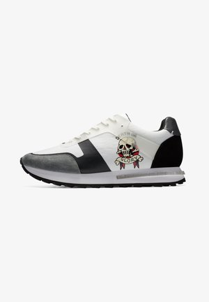 TRANS RUNNER-SKULL - Baskets basses - white