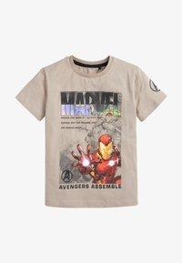 Next - MARVEL - Print T-shirt - off-white - 0