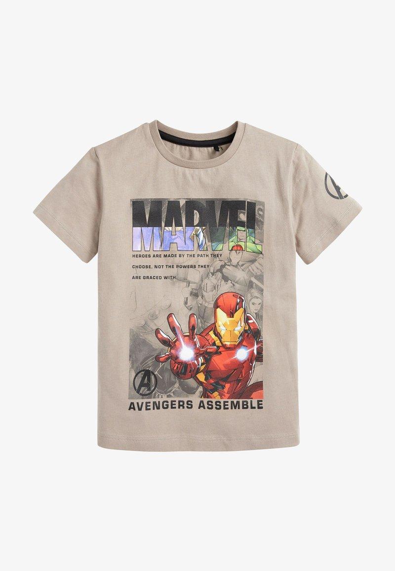 Next - MARVEL - Print T-shirt - off-white