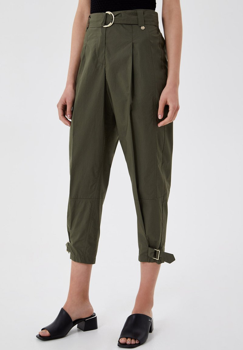 LIU JO - Trousers - green