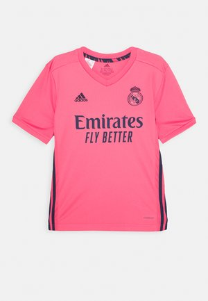 REAL MADRID SPORTS FOOTBALL UNISEX - Artykuły klubowe - pink