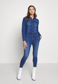 ONLY - ONLCALLI - Jumpsuit - medium blue denim - 0