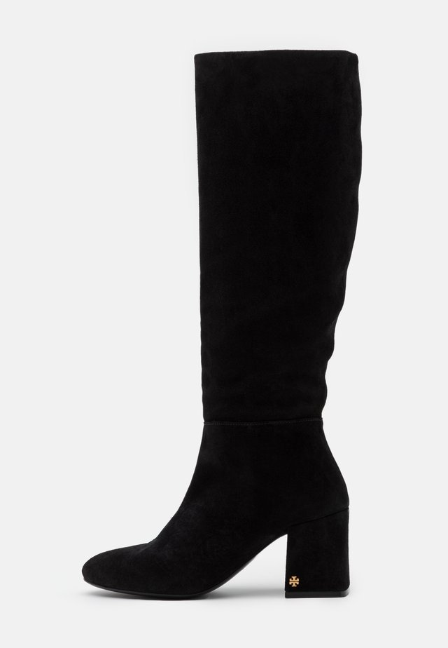 KIRA KNEE BOOT - Vysoká obuv - perfect black