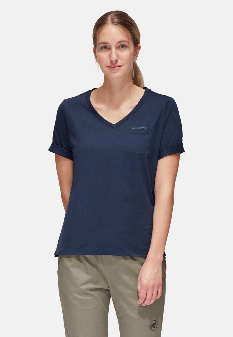 Mammut - T-shirt basic - marine