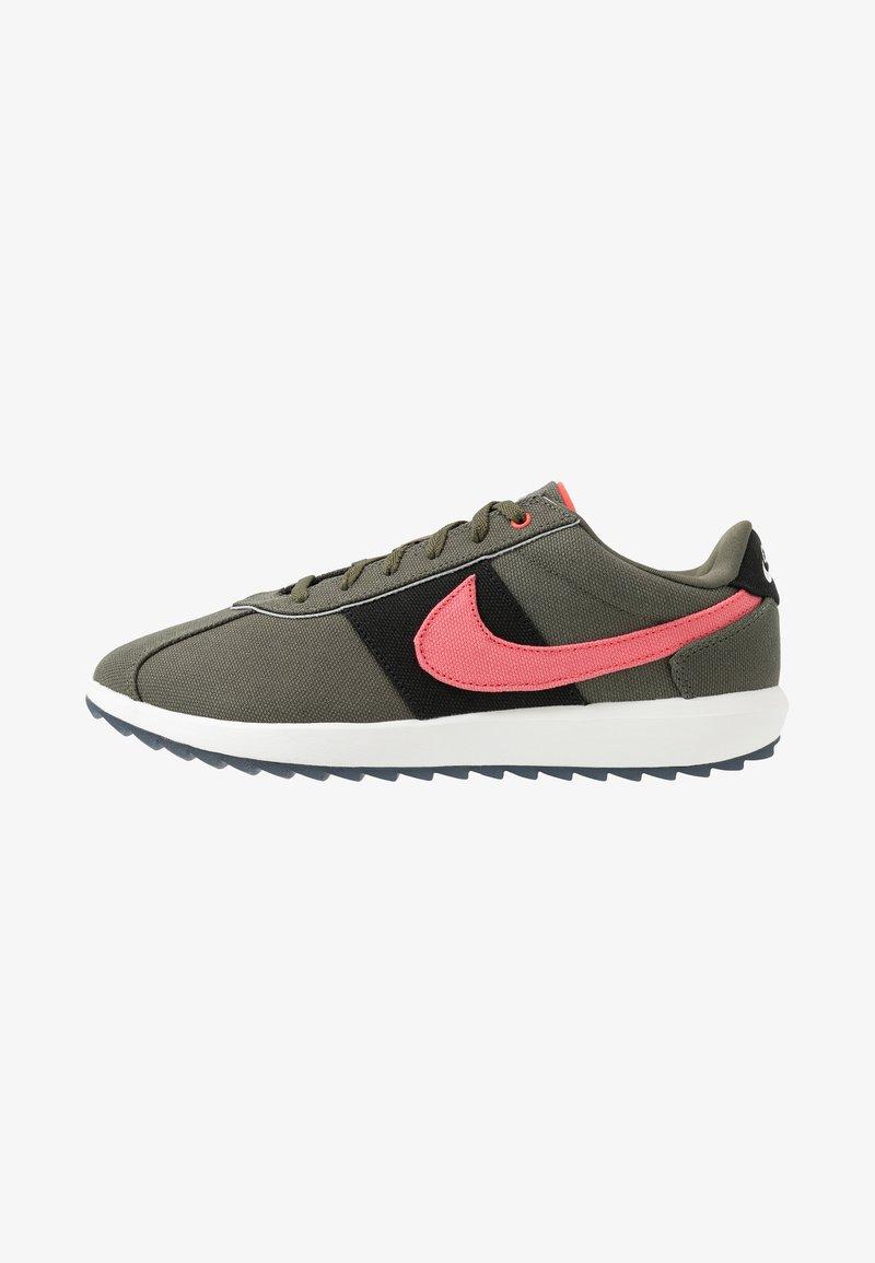 Nike Golf - CORTEZ G NRG - Golf shoes - twilight marsh/magic ember black
