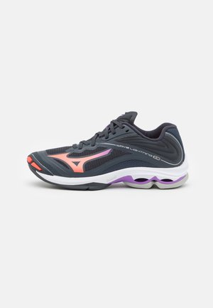 WAVE LIGHTNING Z6 - Volleyball shoes - india ink/fiery coral