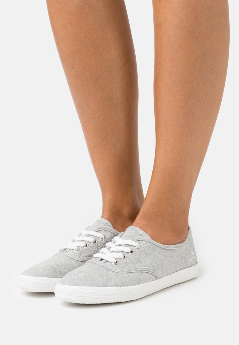 TOM TAILOR - Sneakers basse - light grey