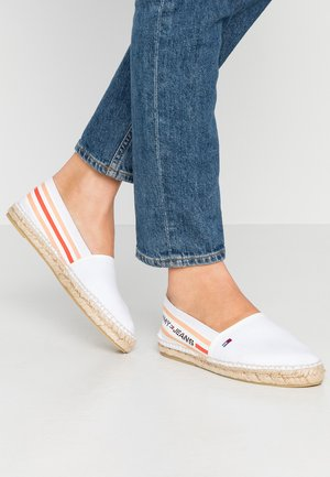 CHUNKY TAPE ESPADRILLE - Loafers - white