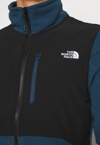The North Face - MENS GLACIER PRO FULL ZIP - Fleecejacka - blue wing teal/black - 4