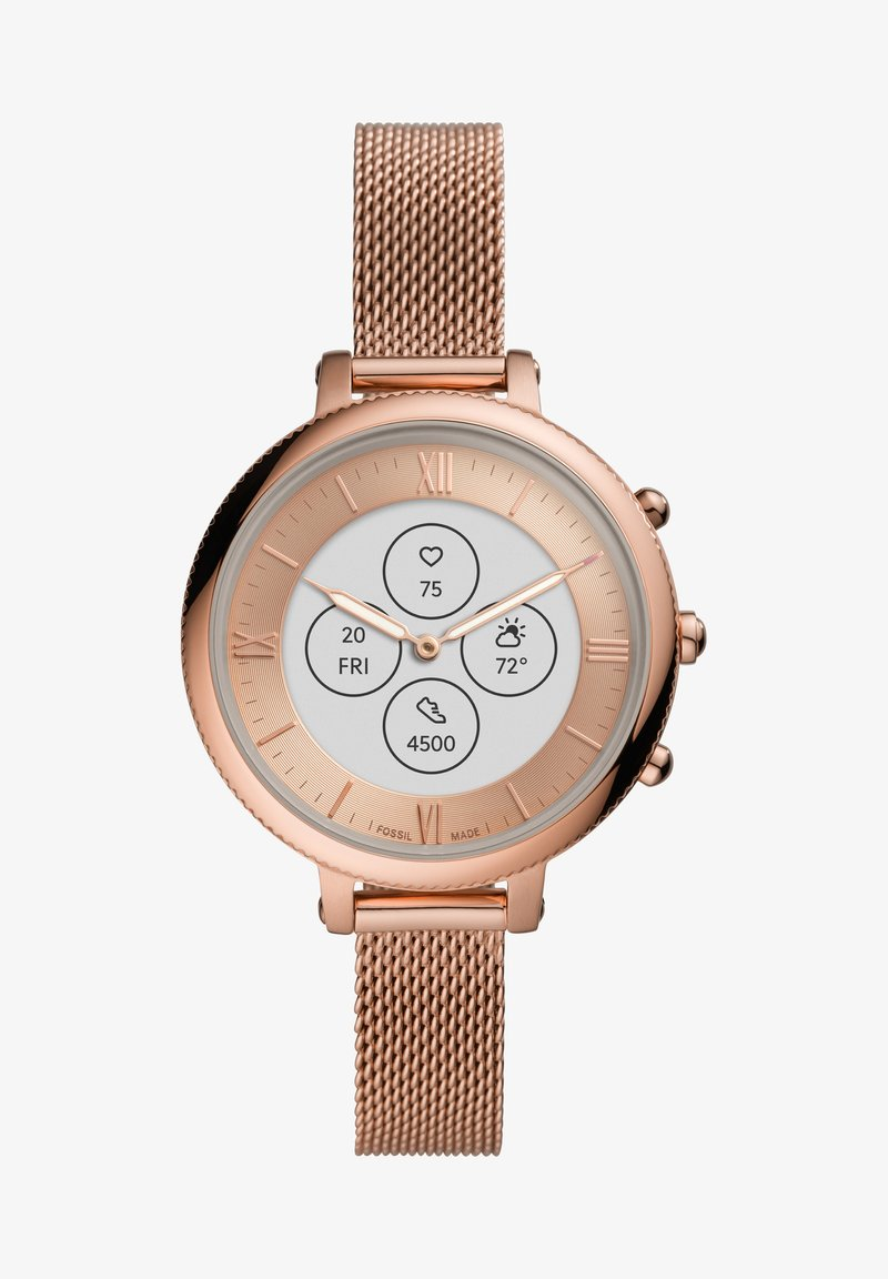 Fossil Smartwatches - MONROE HYBRID HR - Smartwatch - rose gold