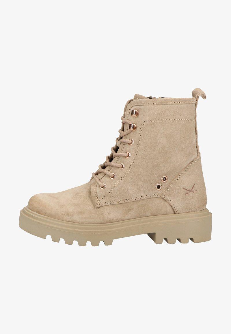 Sansibar Shoes - Veterboots - beige