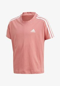 adidas Performance - 3 STRIPES ATHLETICS LOOSE - T-shirt print - pink - 0
