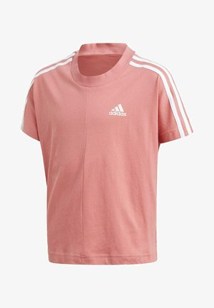 3 STRIPES ATHLETICS LOOSE - T-shirt con stampa - pink