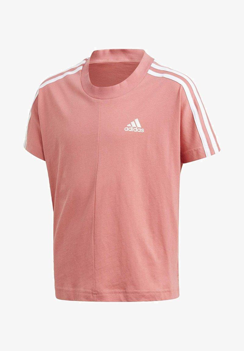adidas Performance - 3 STRIPES ATHLETICS LOOSE - T-shirt print - pink