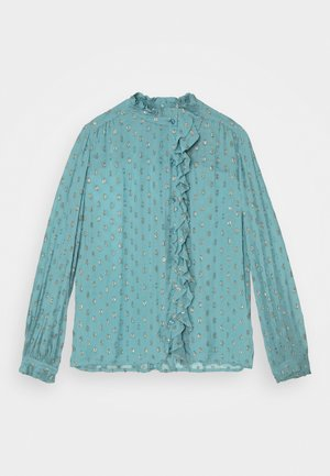 GARDEN BLOUSE - Blouse - dusty blue