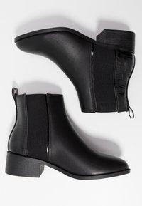 New Look Wide Fit - WIDE FIT ANDIE - Kotníková obuv - black - 3