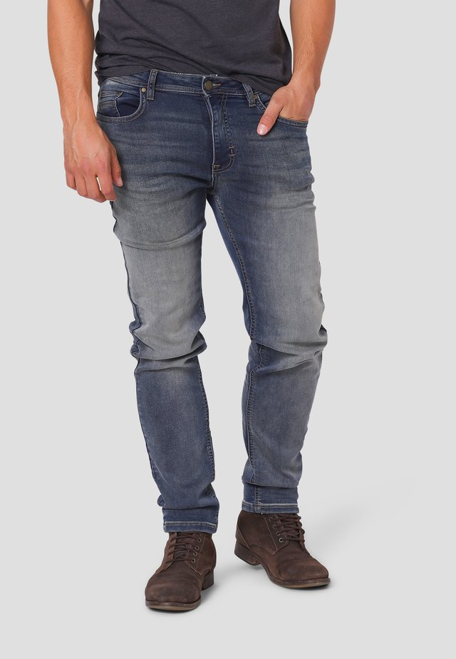 SYLVESTER - Jeans Slim Fit - light destroy wash