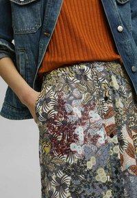 Esprit - Maxi skirt - turquoise - 3