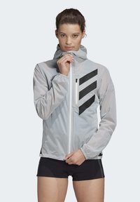 adidas Performance - AGRAVIC RAIN.RDY TRAIL RUNNING - Sports jacket - white - 0